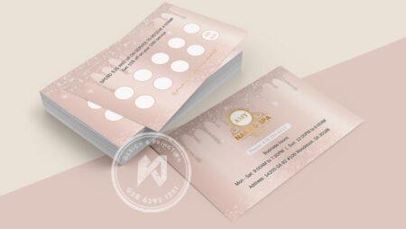 Nails Spa Business Card 2021 đẹp ấn tượng, hiệu quả bất ngờ