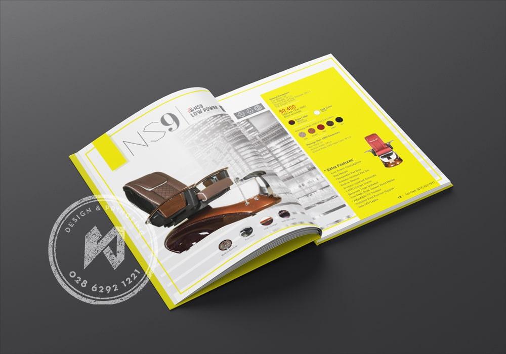 Làm catalogue sản phẩm được làm từ bìa cứng