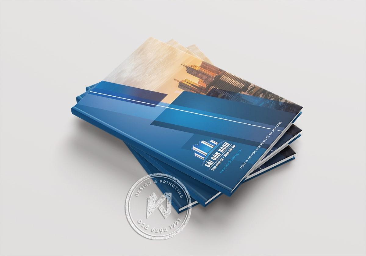 Làm catalog bìa cứng gáy tạp chí