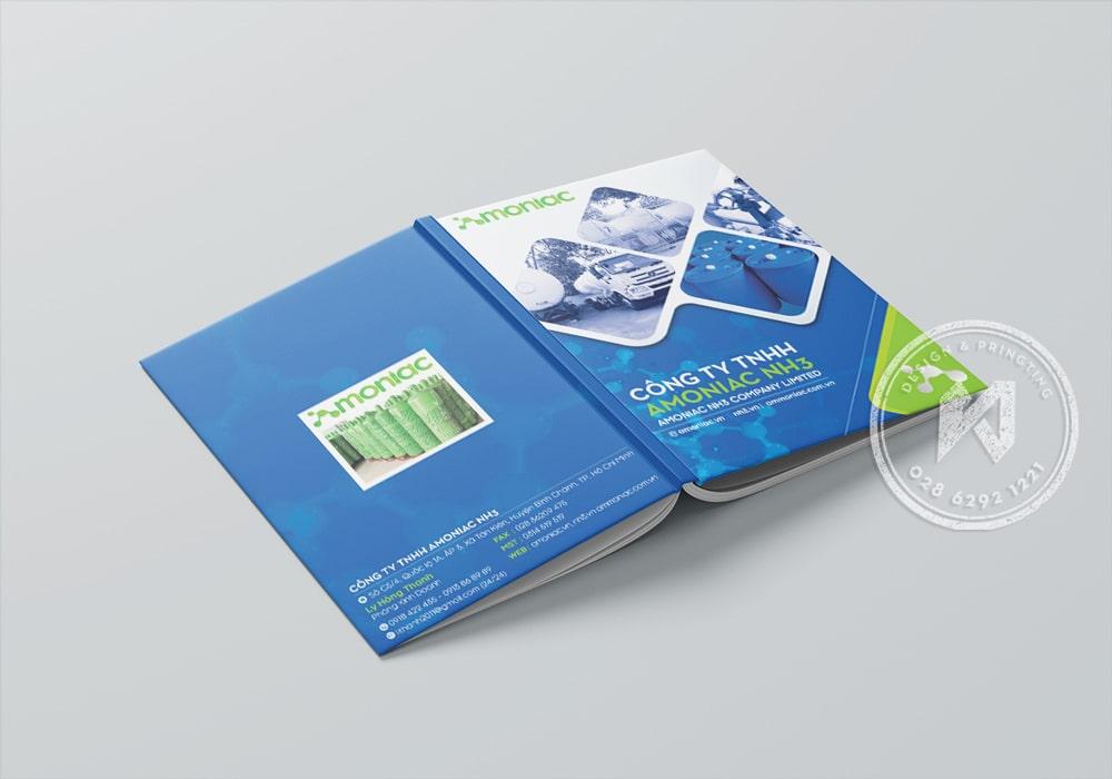 Thiết kế & in catalogue bìa cứng chuẩn đẹp