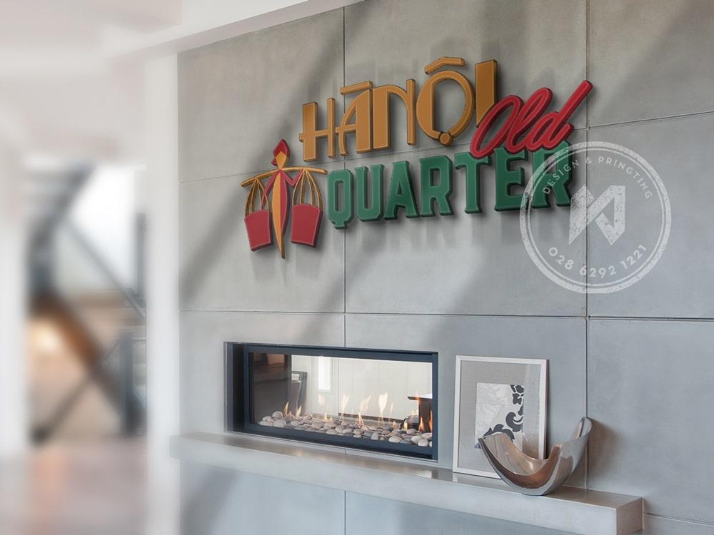 Thiết kế logo nhà hàng HaNoi Old Quarter