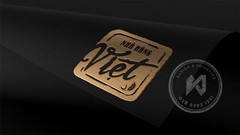 Mẫu thiết kế logo nhà hàng Việt - Viet Restaurant