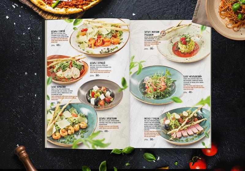In menu BBQ dạng chế biến sẳn cho nhà hàng