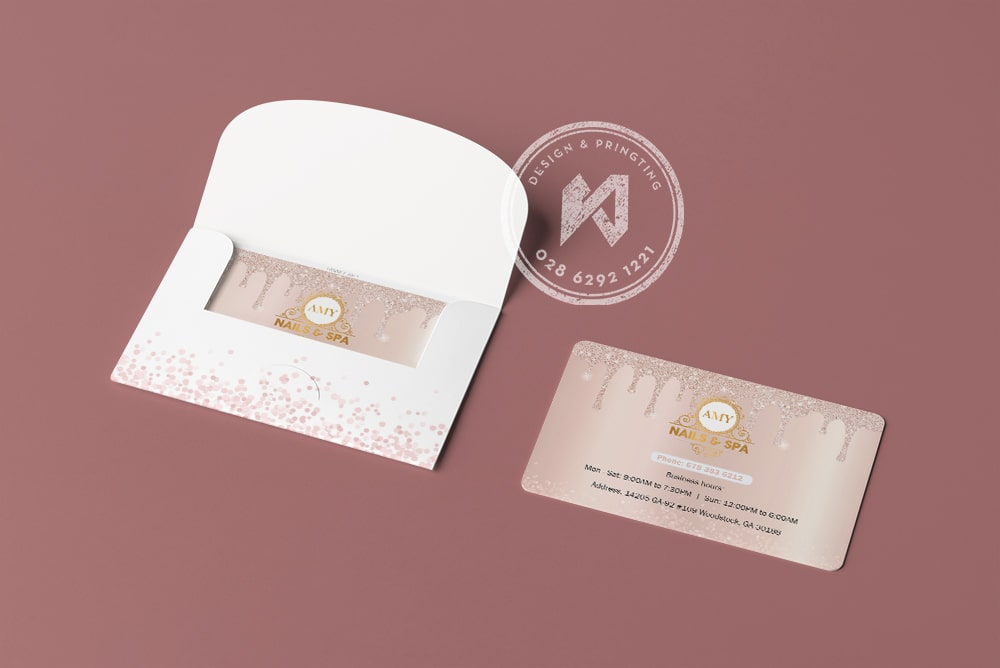 VIP CARD - MEMBER CARD cho Nail Spa