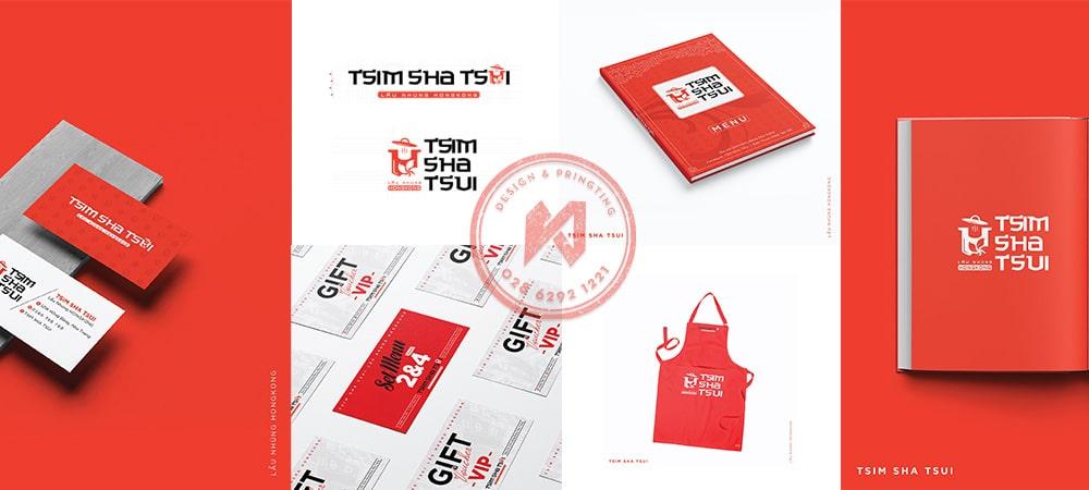 Bộ nhận diện thương hiệu nhà hàng TsimShaTsui