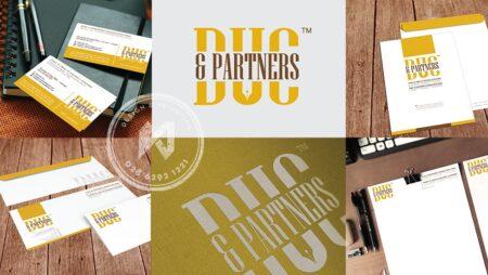 Bộ nhận diện công ty Luật – Duc & Partners Branding Design