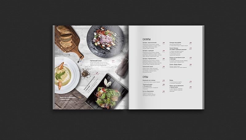 Phong cách thiết kế menu 2021 đơn giản nhưng tinh tế