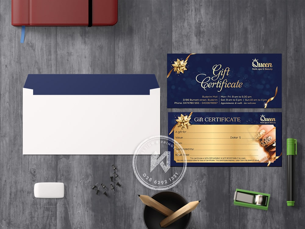 Gift certificate Nail & Spa Beauty