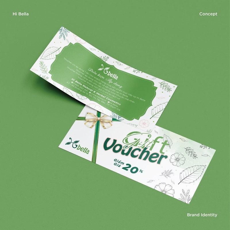 Gift Voucher Sales Of 20%