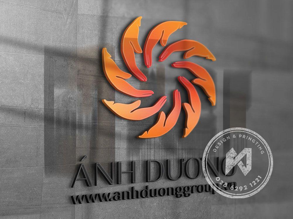 Mẫu thiết kế logo công ty Ánh Dương