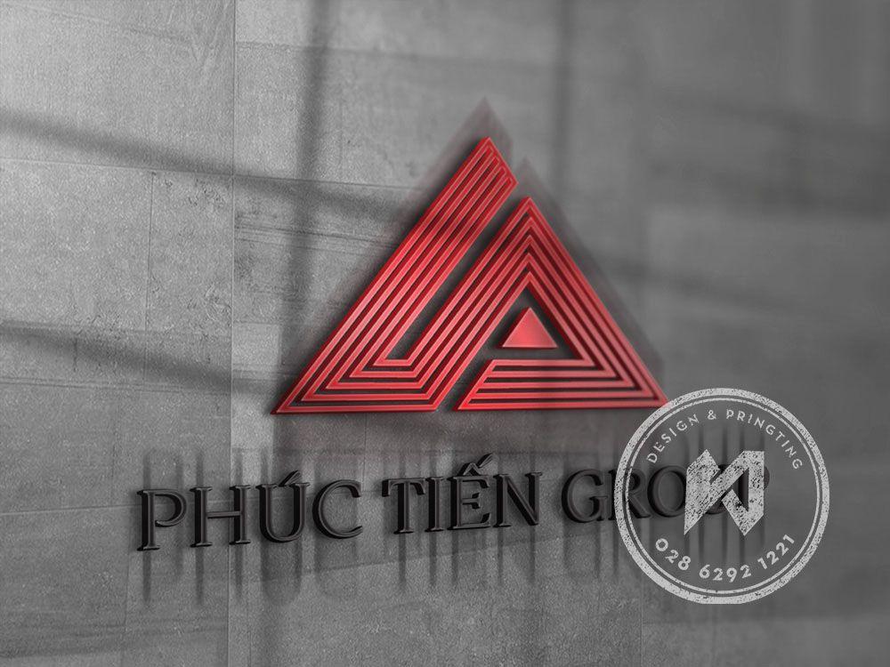 PHUC TIEN GROUP - logo công ty bất động sản
