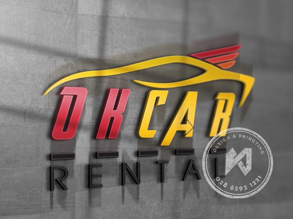 DHCAR RENTAL - Mẫu thiết kế logo công ty