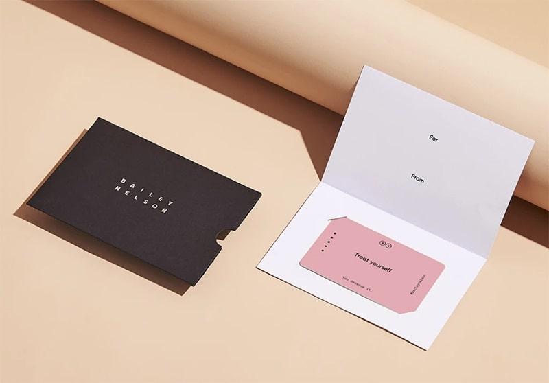 Mẫu gift card holder