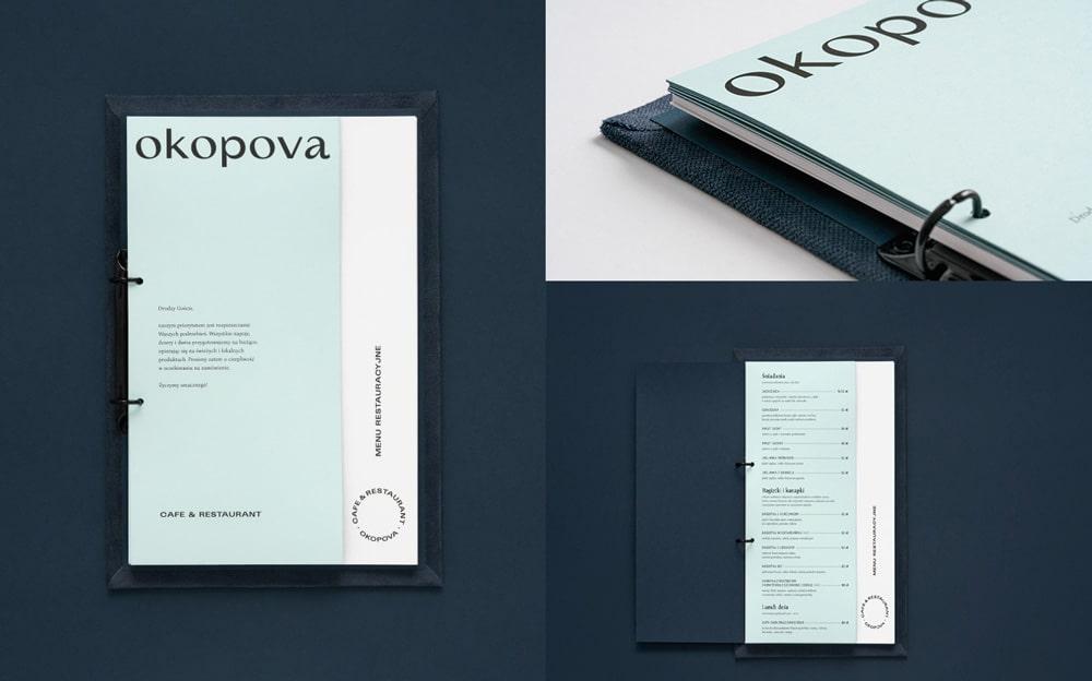 OKOPOVA được thiết kế với phong cách lệch