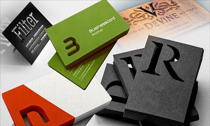 In name card outcut cực đỉnh