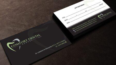 In phiếu lịch hẹn nha khoa, Dentist Appointment card