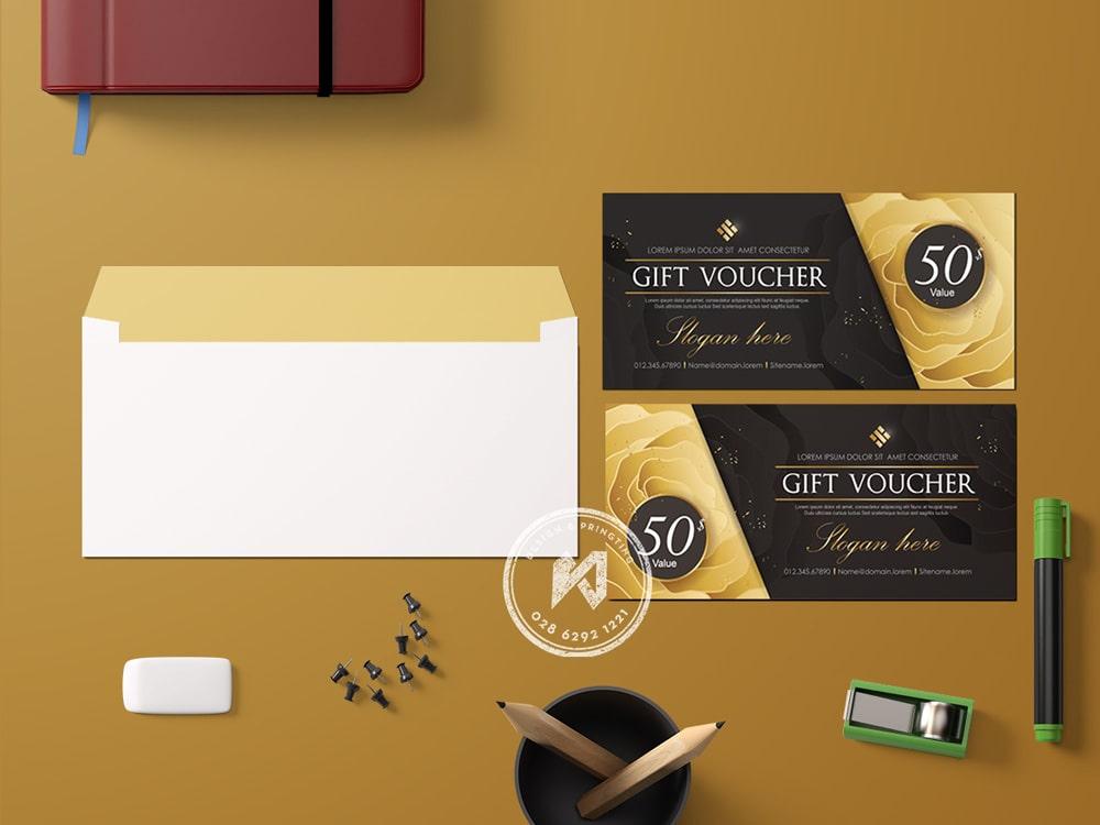 Gift voucher safe off 50%