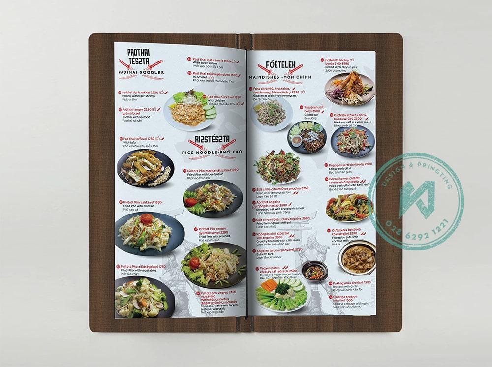 Món ăn Việt trong nhà hàng Samurai