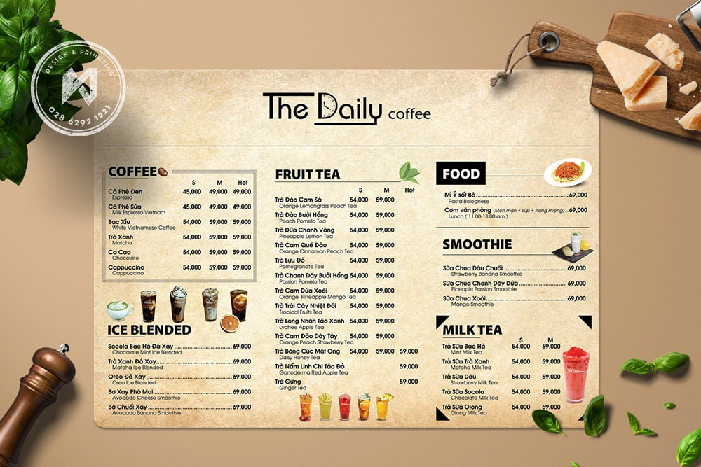The Daily Coffee Vintage