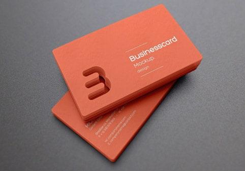 In name card đục lỗ ấn tượng