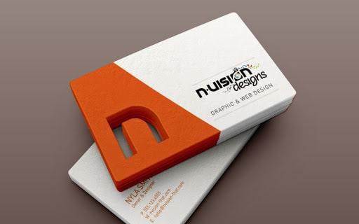 Thiết kế & in card visit đục lỗ thú vị