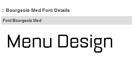 Font Bourgeois-Med