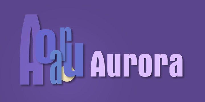 UTM Aurora - font chữ Việt hóa có nguồn gốc từ Đức