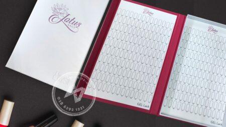 Hộp đựng mẫu nail cao cấp, Nail Gel Color Book PRO